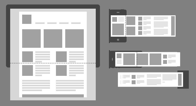 horizontal-mobile-responsive-layout