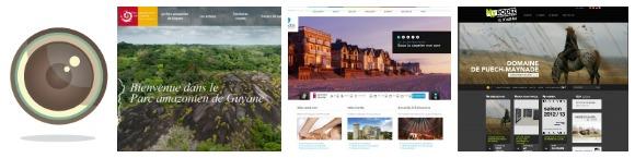Février 2013 : Nouveaux sites web de destinations touristiques