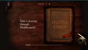 Take a journey to middle earth