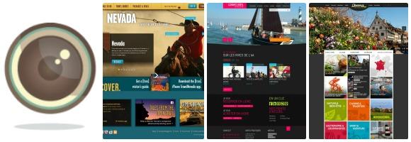 Nouveaux sites web de destinations touristiques (Avril 2013)