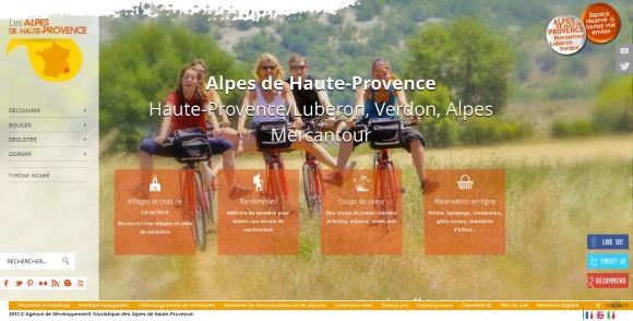 Nouveaux sites web de destinations touristiques juin 2013 - Office du tourisme alpes de haute provence ...
