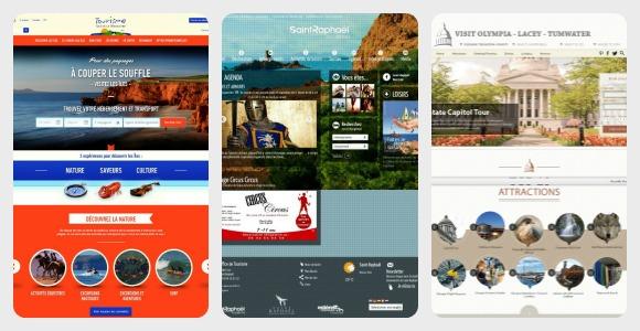 Nouveaux sites web de destinations touristiques (juin 2013)