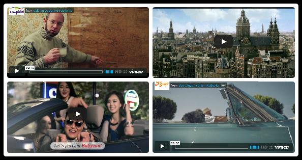 Best Of Vidéo et Tourisme (juin 2013)