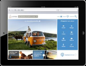Site mobile Auvergne Tourisme