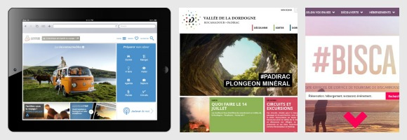 Nouveaux sites web de destinations touristiques (juillet 2013)