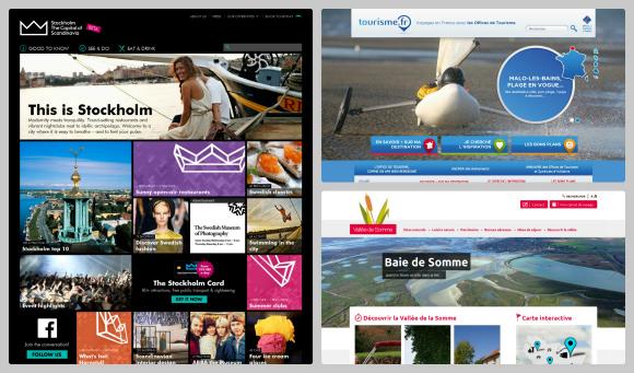 Nouveaux sites web de destinations touristiques (septembre 2013)