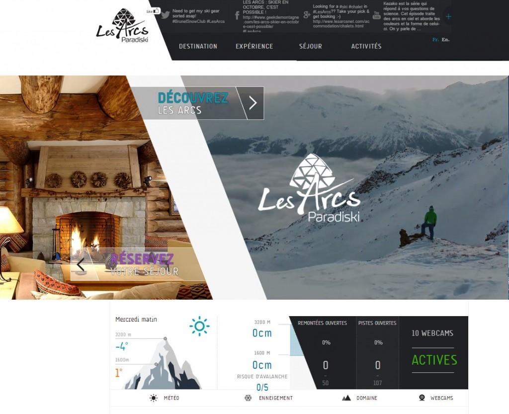 Station de ski Les Arcs   Les Arcs