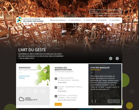 Tourisme ouest Vosges