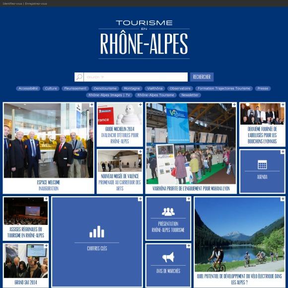 Nouveaux sites web de destinations touristiques mars 2014 - Office du tourisme rhone alpes ...