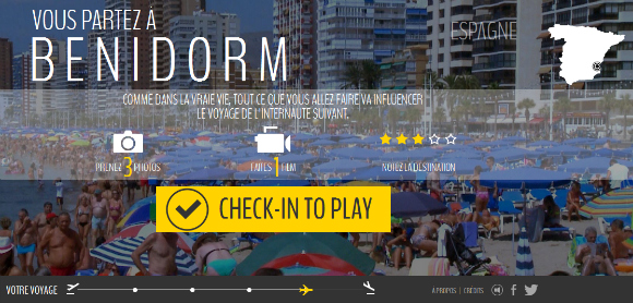 CHECK-IN, un webdoc tendre et ironique sur le Tourisme