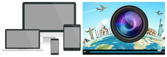 Webdesign et vidéos touristiques = Le meilleur de 2014 !