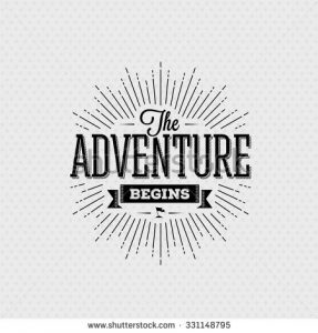 stock-vector-vector-card-with-typography-design-element-for-greeting-cards-and-posters-the-adventure-begins-in-331148795